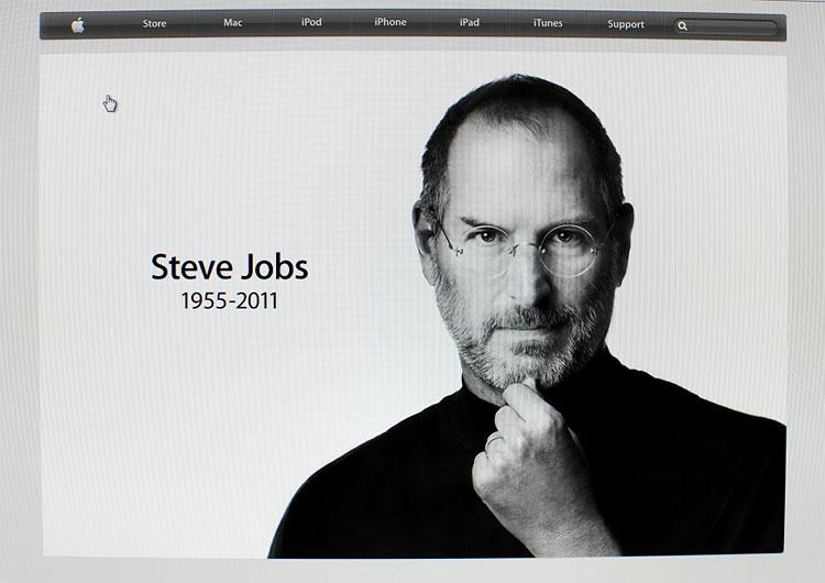 Помер Стів Джобс