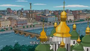 Сіпсони зняли серію про Україну