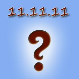 11.11.11 – чого чекати?