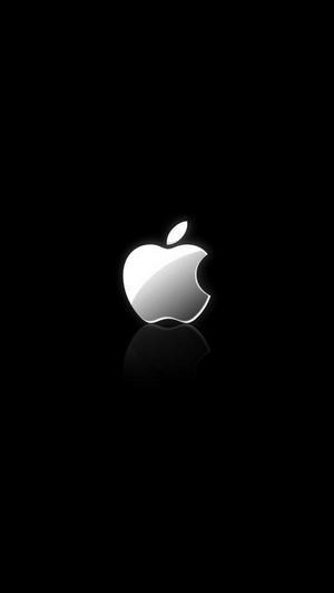 iphone 5 apple логотип