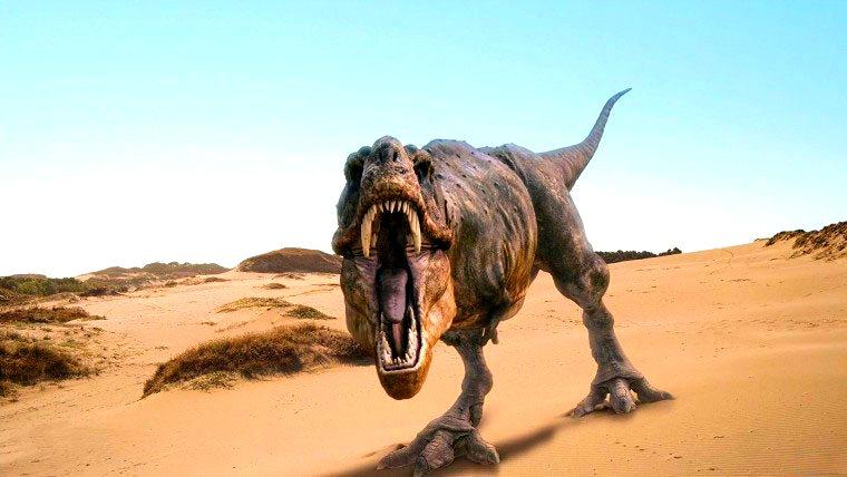 Тиранозавр у всій своїй красі