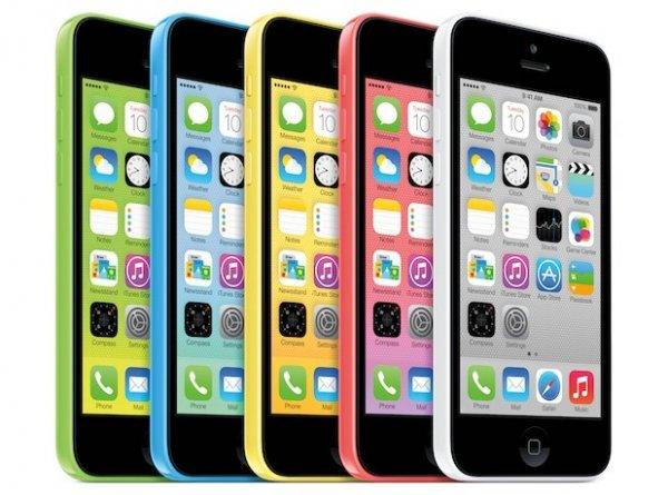 Кольорові iPhone 5