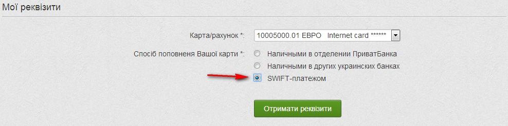 Реквізити та налаштування Вивід адсенсу в Україні Як налаштувати SWIFT-платежу в Приват24