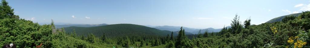 Панорамне фото з Говерли