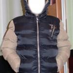Китайська куртка з капюшоном