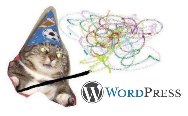 Не типове меню у WordPress вжух вжух