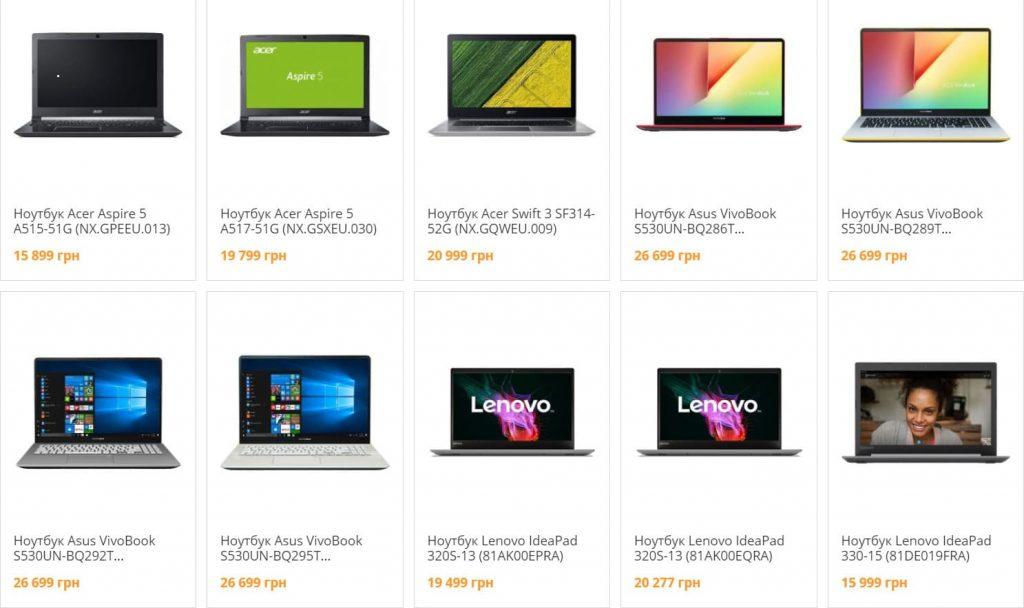 Як вибрати ноутбук для роботи